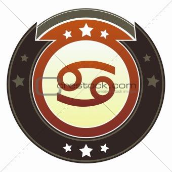 Cancer zodiac icon