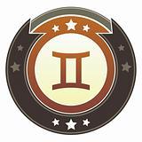 Gemini zodiac icon