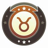Taurus zodiac icon