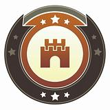 Castle, safety, or security icon