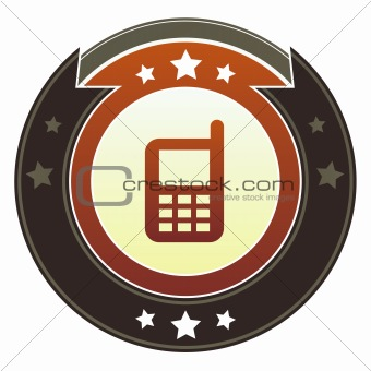 Cell phone or mobile contact icon