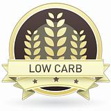 Low carb food label