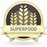Superfood food label