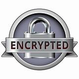 Encrypted on security button
