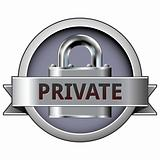 Private on security button