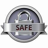 Safe on security button