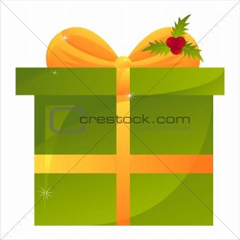 green christmas present