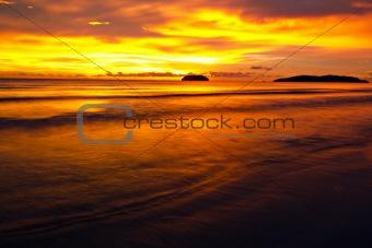 Beach Sunset (Golden Hour)