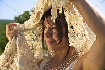 Attractive Woman Bridal