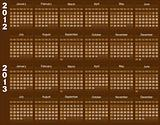 Chocolate calendar.
