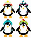 Holiday Penguins Set