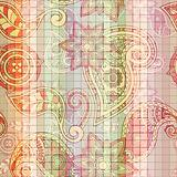 vector seamless tile  paisley pattern