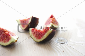 slices of figs