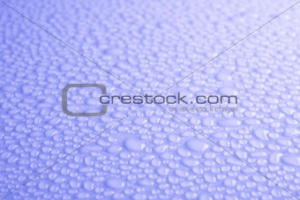 Beautiful drops of water