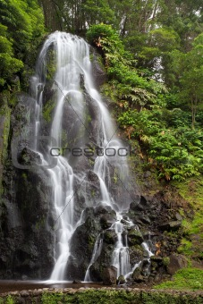 Waterfall on Sao Miguel