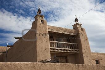Church in Las Trampas, New Mexico