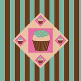colorful cakes background