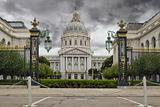 Stormy Sky over San Francisco City Hall