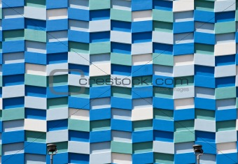 Abstract Wall Facade