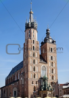St Mary's Church in Krakow