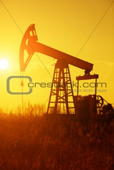 Oil Pump Silhoutte