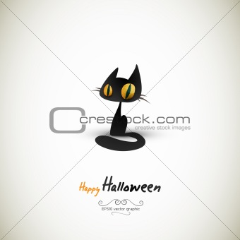 Halloween Cat | Separate Layers Named Accordingly