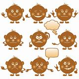 Smilies round, set, brown 1(967).jpg