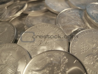 Silver Eagle $1 U.S. Bullion Coins