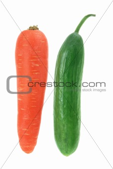 Carrot and Lebanese Cucumber