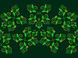 floral horizontal pattern