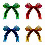 ribbons colored vectors