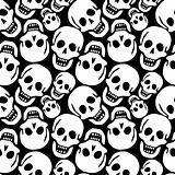 skulls pattern
