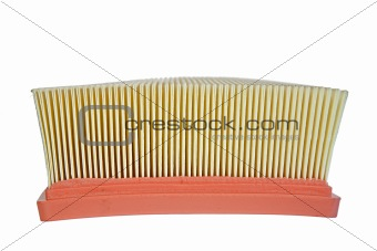 air filter side view