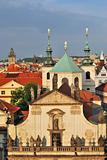 Prague. Klementinum and  St.Salvatore Cathedral
