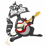 Cartoon Character Raccoon