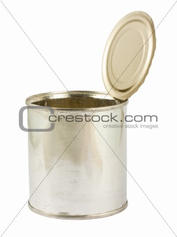 opened can