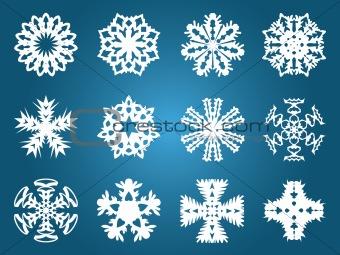 Beautiful Christmas Snowflakes