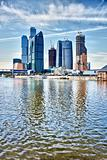Skyscrapers in Moscow - Russia