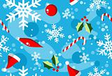 Christmas winter style elements background