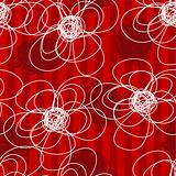 Abstract flowers pattern.
