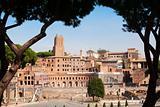 Antic Rome ruins