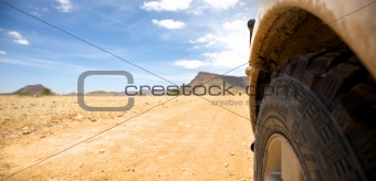 Off road in Namibia