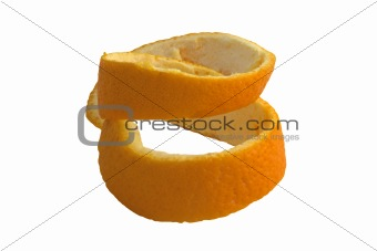 Peel from an orange