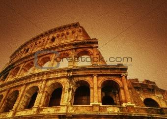 Ancient Roman Colosseum