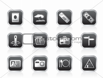 Simple Travel and trip Icons