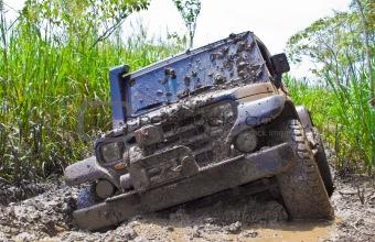 Off road car dirt