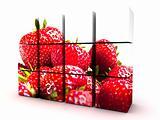 Strawberry Cube