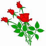 tattoo rose flower