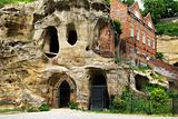 Caves at Nottingham, UK
