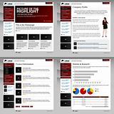 Web Website Design Template Layout